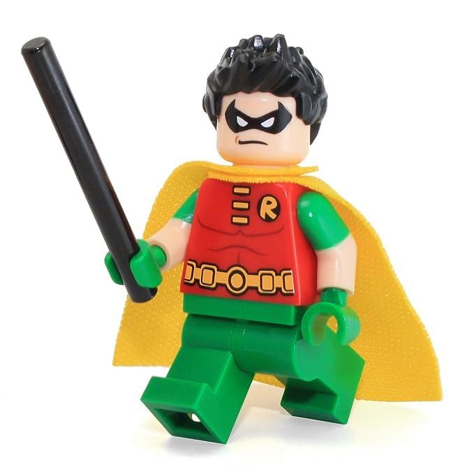 New DC Universe Custom Lego Teen Titans Beast Boy Minifigure