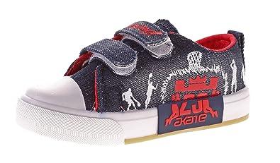 LinShi Kinder Leinen Schuhe Jungen Mädchen Halbschuhe Klett