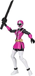 Power Rangers Ninja Steel 5-Inch Pink Ranger Action Hero Figure