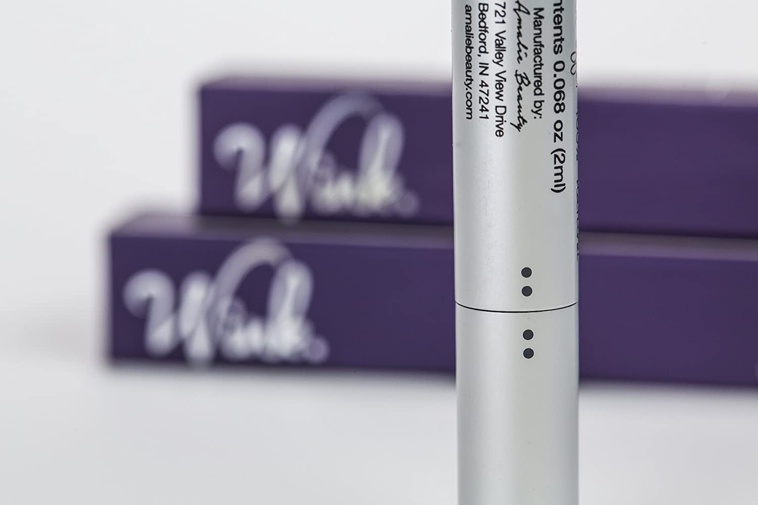 fc14b82f92d Amazon.com: Amalie Wink Lash & Brow Enhancing Oil Vegan, Hypoallergenic,  Cruelty-Free, Made In USA: Beauty