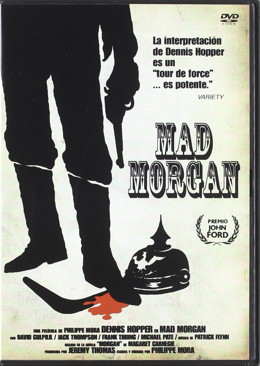 Mad morgan [DVD]: Amazon.es: Dennis Hopper, Jack Thompson, David Gulpilil, Frank Thring, Michael Pate, Wallas Eaton, Philippe Mora: Cine y Series TV