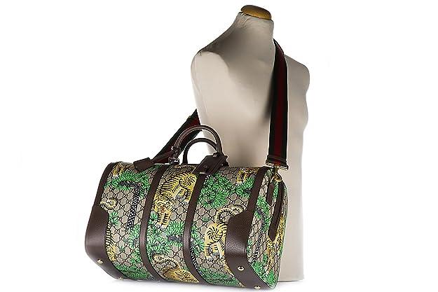 Gucci bolso de viaje con bandolera nuevo GG supreme bengal beige: Amazon.es: Zapatos y complementos