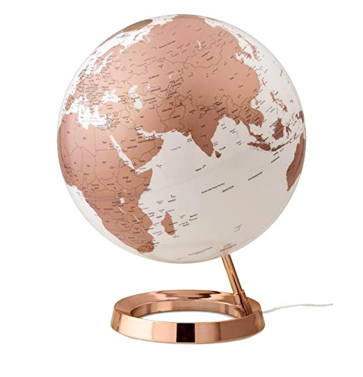 9 opinioni per Mappamondo luminoso Light & Colour, Atmosphere (Copper)