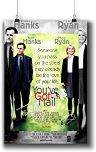 Pentagonwork You've Got Mail (1998) Movie Photo Poster Prints 966-001 Reprint Signed Casts,Wall Art Decor Gift (A3|11x17inch|29x42cm)