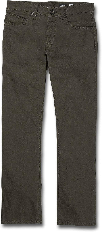 Volcom Mens Solver 5 Pocket Heavyweight Slub Pant