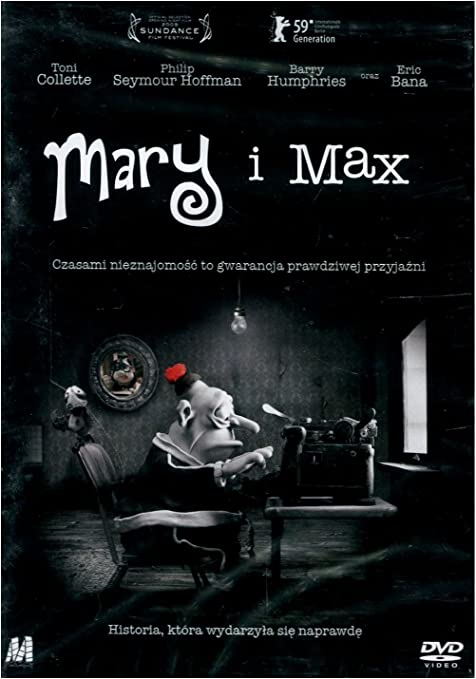 Mary And Max Dvd English Audio By Toni Collette Amazon Co Uk Toni Collette Philip Seymour Hoffman Eric Bana Barry Humphries Bethany Whitmore Renaĺ E Geyer Ian X27 Molly X27 Meldrum John Flaus Julie Forsyth Michael