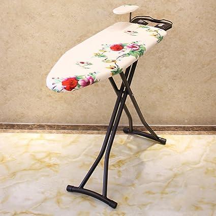 KK- Tablero que plancha Inicio Plegable Repelente de la toalla Refuerzo Soporte para planchar Tabla