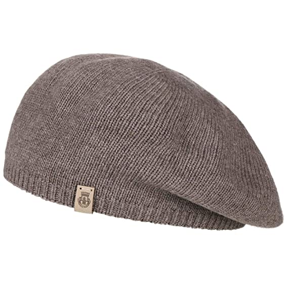 a3519ab4208b0c Roeckl Beret with Cashmere Knit Beanie Winter (One Size - Beige):  Amazon.co.uk: Clothing