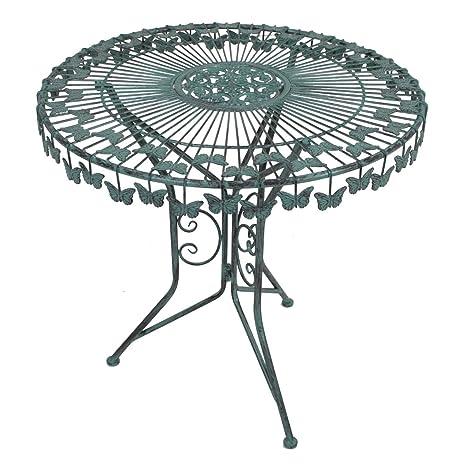 Amazon De 3er Gartenmobel Set Bistro Set Sitzgruppe Metall