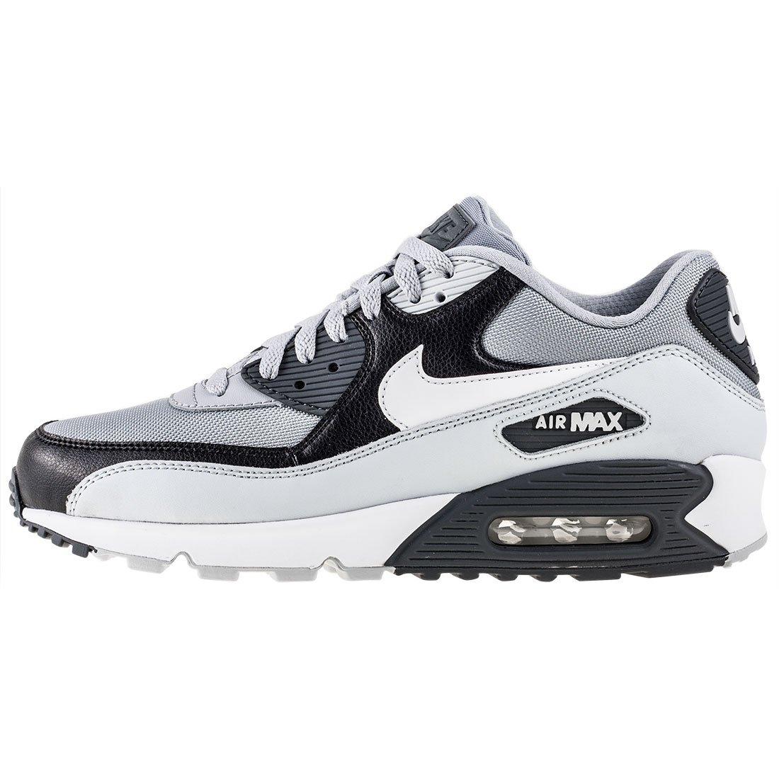 Nike Men's Air Max 90 Essential Running Shoe, Wolf Grey