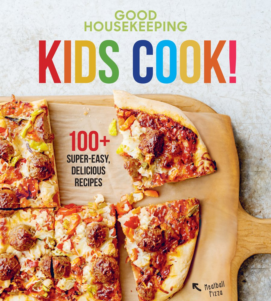 Good Housekeeping Kids Cook!: 100+ Super-Easy, Delicious Recipes (Good Housekeeping Kids Cookbooks) Hardcover best cookbook for kids