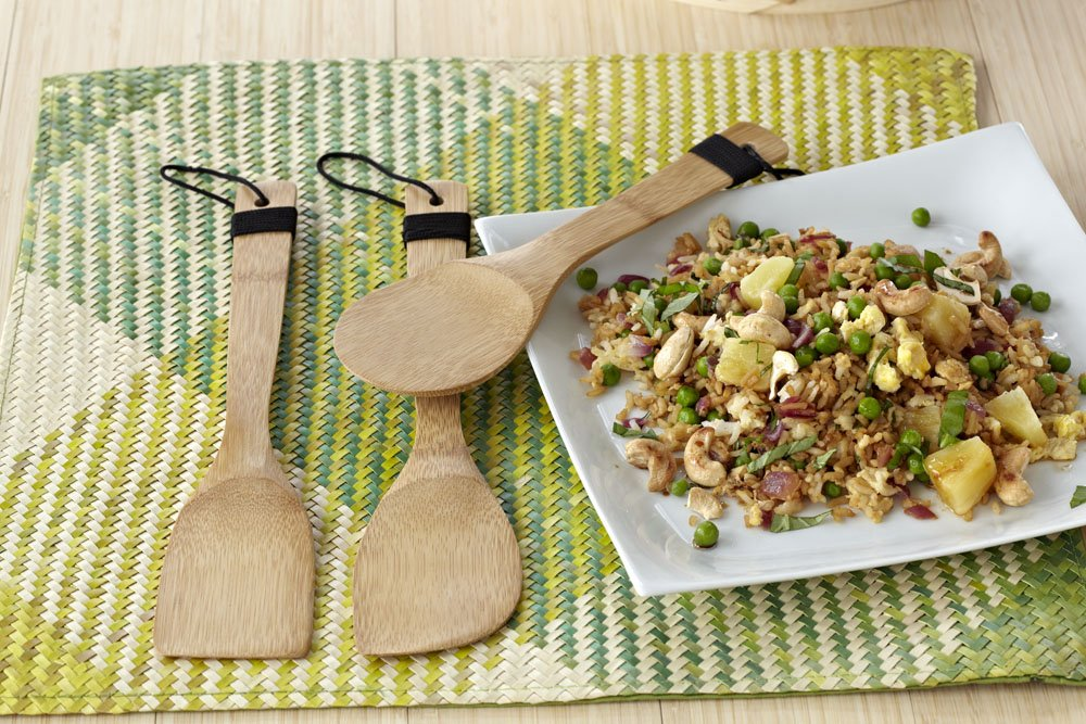 IMUSA Bamboo Cooking Tools 3-P...