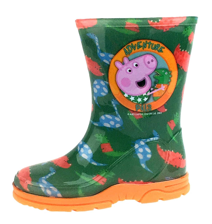 Peppa Pig George Boys Wellington Boots