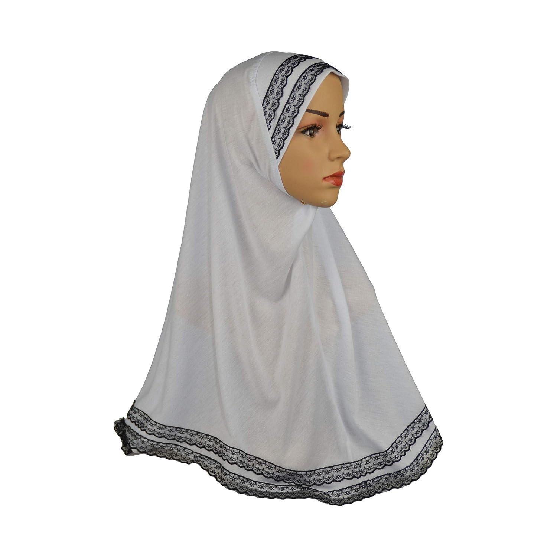 Figura decorativa de encaje negro Yaqeen Hijab Amira