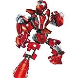 Blocos de Encaixe Robô Guerreiro Red Armor Xalingo