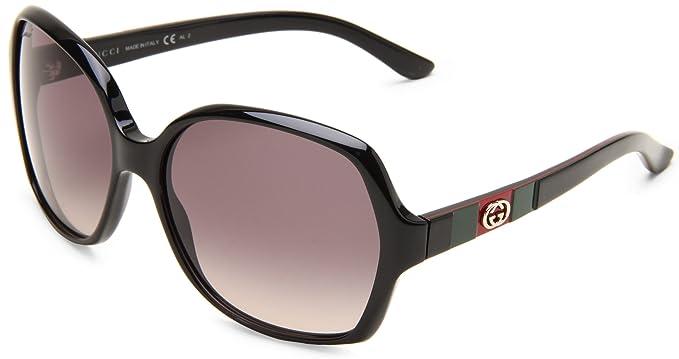 Gucci Gafas de Sol GG 3538/S DX Negro: Amazon.es: Ropa y ...