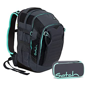 3ca506445a13c Satch Match Mint Phantom Schulrucksack Set 2tlg.  Amazon.de  Koffer ...