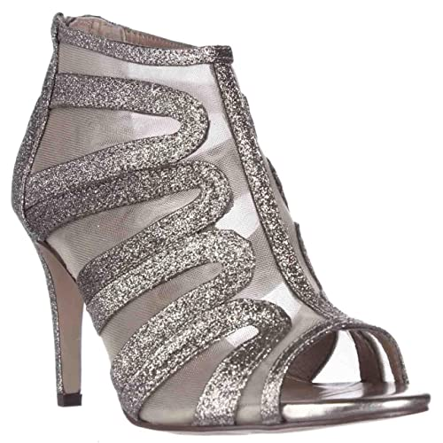 Style & Co. umali Peep-Toe Vestido Botines – Platino, Color Dorado,