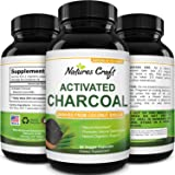 Cleanse and Detox Activated Charcoal Capsules - Pure Activated Carbon Detox Capsules for Bloating Relief and Weight Loss…