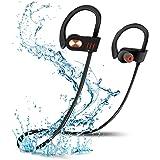 Écouteurs Bluetooth, NEWSTYLE Oreillette sans Fil Bluetooth 4.1 avec Mic Headphones IPX7 étanche Casque Sportif Stéréo, Oreillette Anti-bruit- CVC6.0 Réduction de bruit