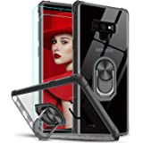 Samsung Galaxy Note 9 Case with 3D Curved Screen Protector [2 Pack], LeYi [Military-Grade] Clear Crystal Protective Phone Cov