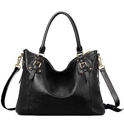 BIG SALE-AINIMOER Women's Large Leather Vintage Shoulder Bags ...