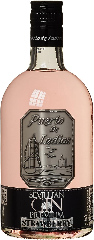 Sevillan Gin Premium Strawberry Ginebra - Puerto de Indias, 70 cl