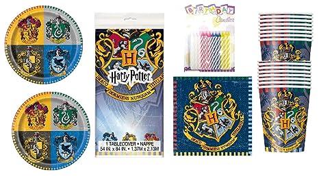 Amazon.com: Harry Potter Fiesta Platos Servilletas vasos ...