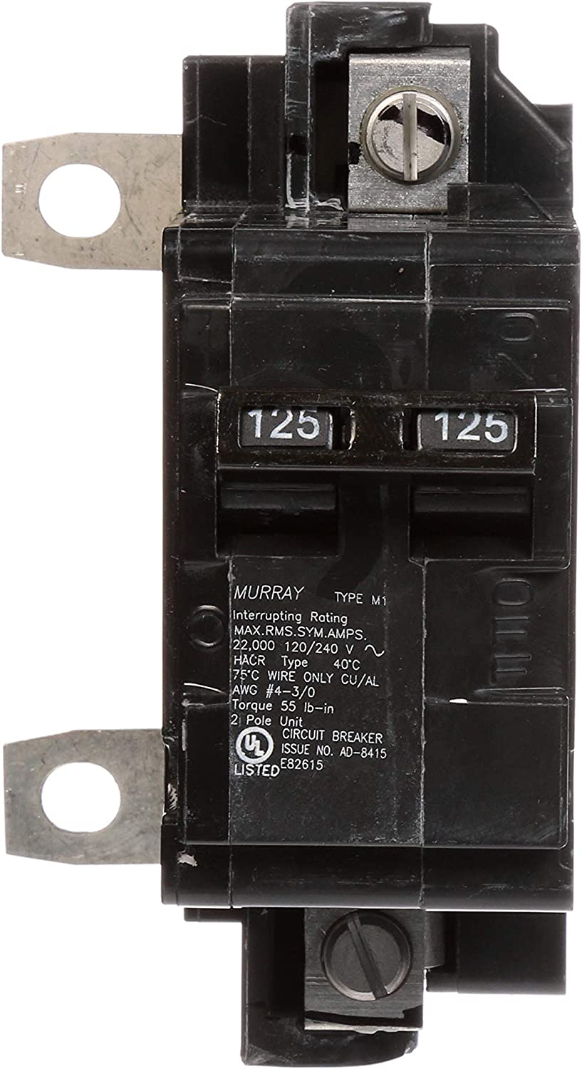 Murray MBK100M 100-Amp Main Circuit Breaker for Use in Rock Solid Type Load Centers
