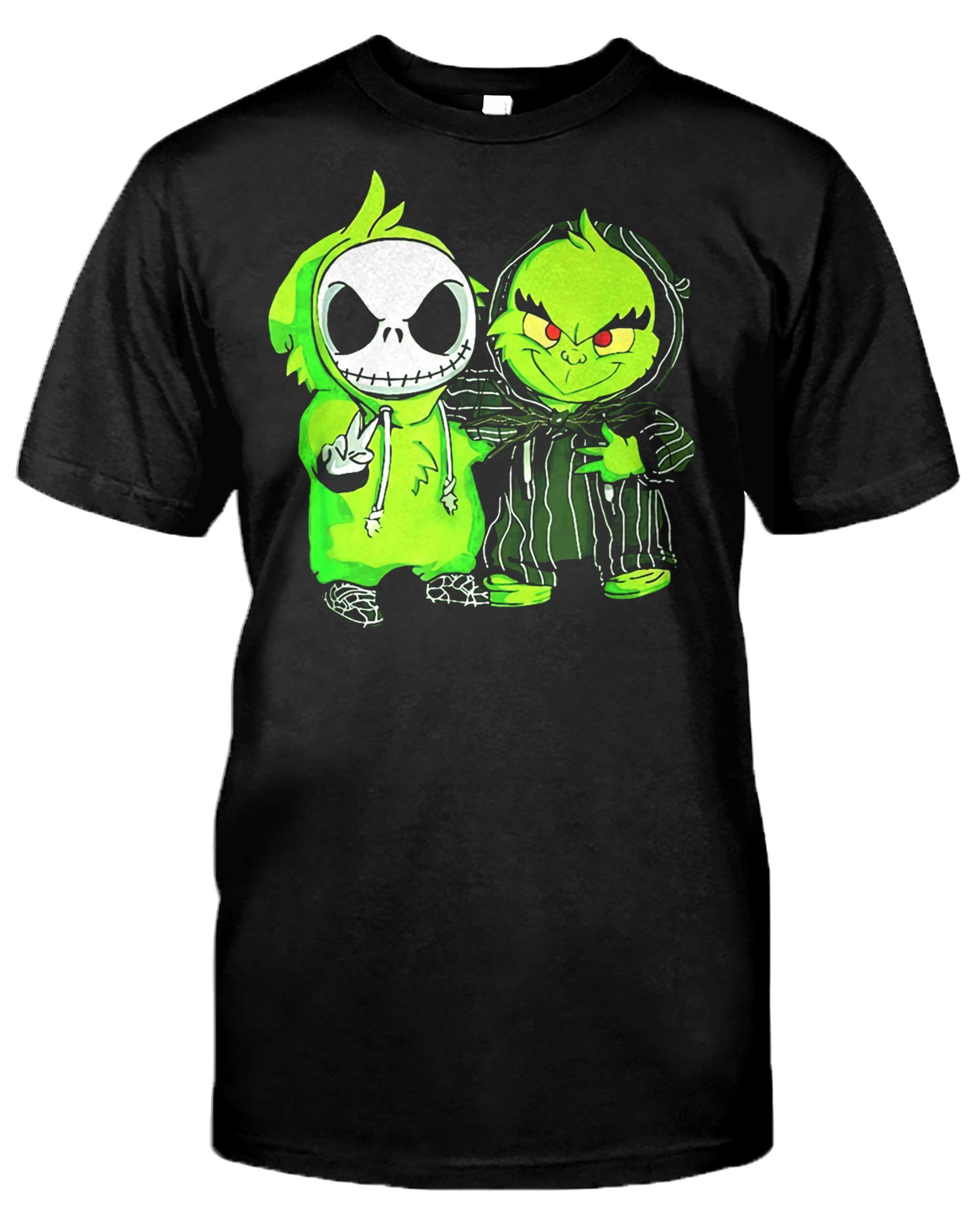 Clothing Change Grin Jack Funny Skelington Halloween T Shirt