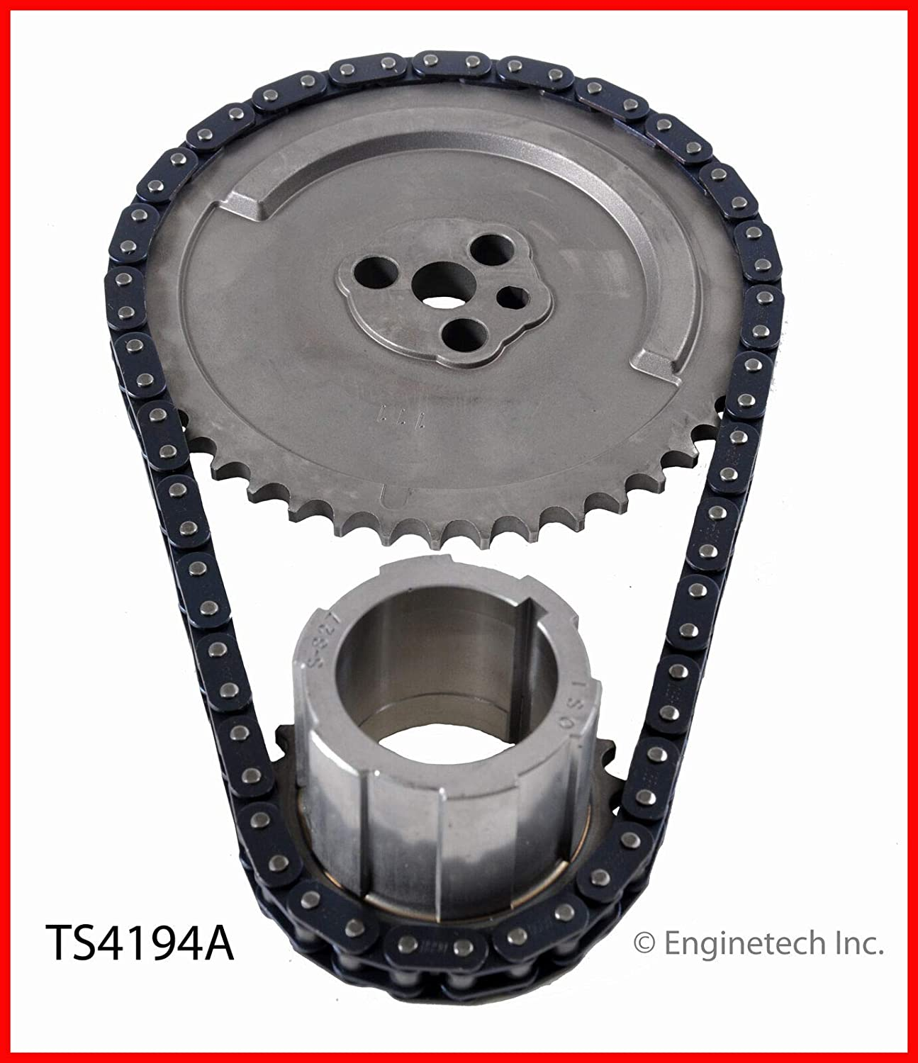 ENGINETECH CHEVY GENIII 4.8 5.3 5.7 6.0 6.2 REAR COVER GASKET AND SEAL