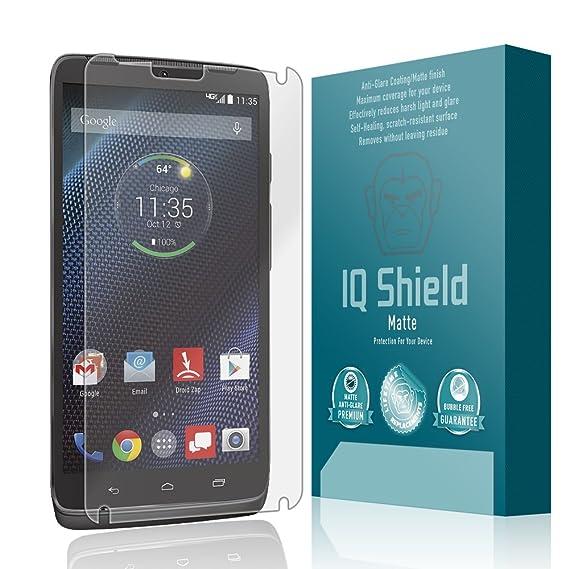 Motorola Droid Turbo Screen Protector, IQ Shield Matte Full Coverage Anti-Glare Screen Protector