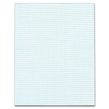 Amazon.Com : Tops Quadrille Pad, Gum-Top, 8-1/2 X 11 Inches, Quad