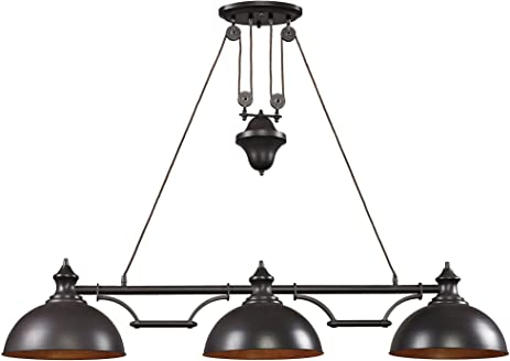 elk 56 by 11inch farmhouse 3light
