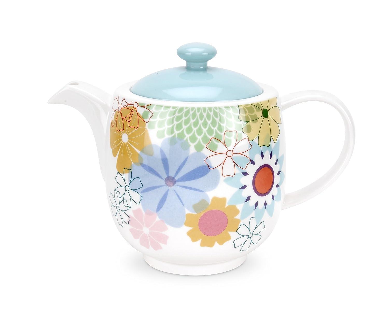 Portmeirion Crazy Daisy Teapot Portmeirion Potteries Ltd CR67180-X Serveware Coffee Tea & Espresso
