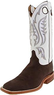 27243b64855 Amazon.com   Justin Boots Men's 11-Inch Bent Rail Riding Boot   Western