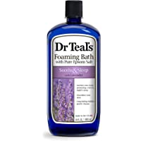 Dr Teals Pure Epsom Salt Foaming Bath with Lavender, 1 L