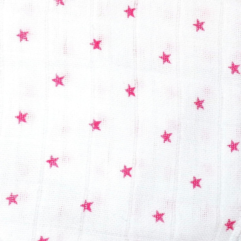 3 piezas Babymajawelt/® Pa/ñales de tela Lebkuchen Stars 80x80cm gris