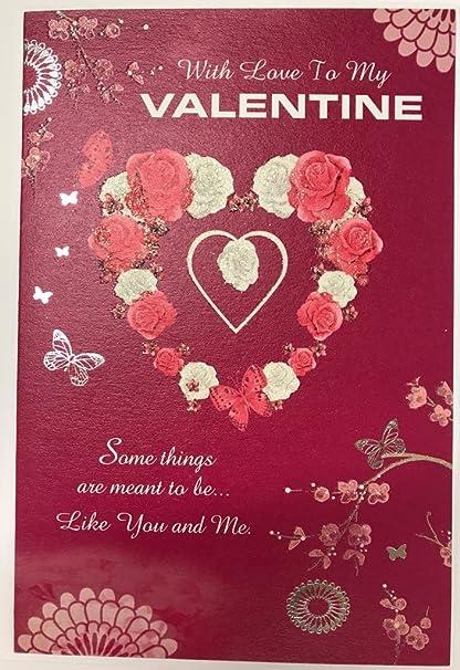 amazon com with love to my valentine open sentimental verse