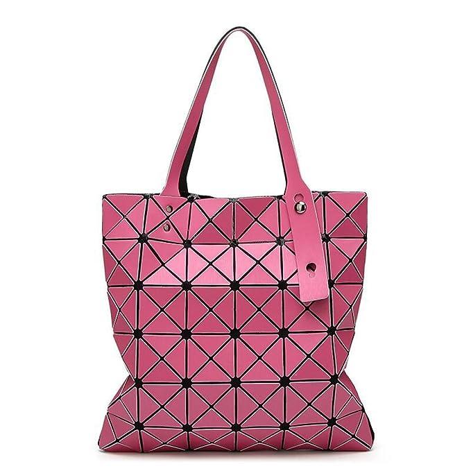 8bdf711c3bf18 6   6 Matte Handtaschen Rhombus Geometrisches Paket Zauberwürfel Falten  Umhängetasche Handtasche