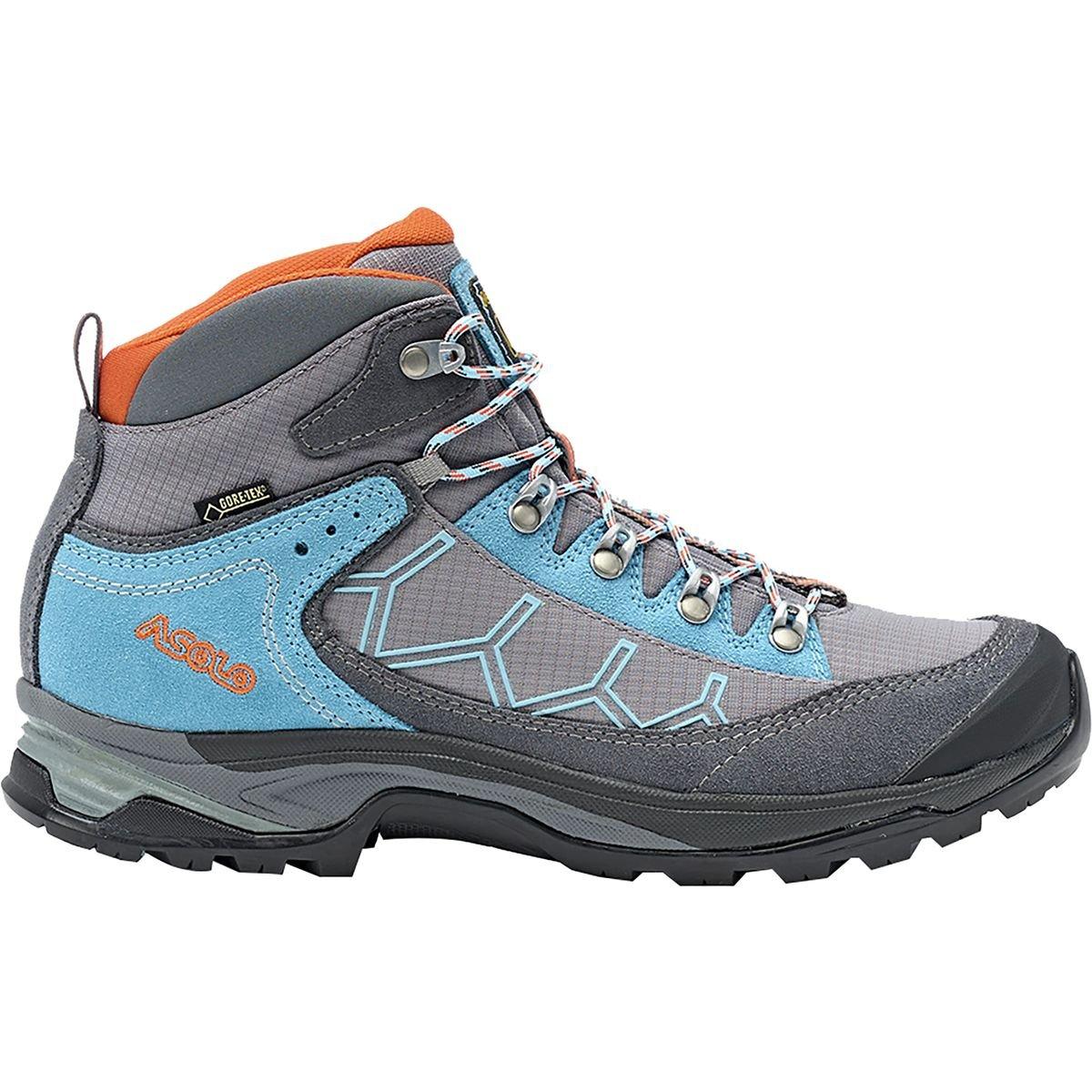 Asolo Women Falcon GV Hiking Boots B00WE3K4T8 6|GREY/STONE