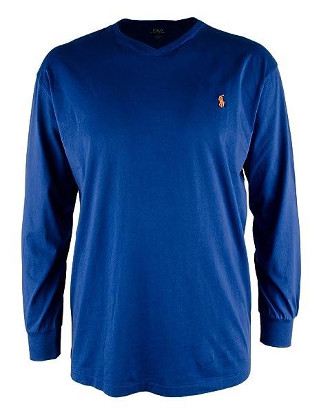 Bigamp; Polo Lauren Heathered Long Tall Shirt Ralph T Mens Sleeve IfYv7yb6g