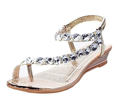 Flat Sandals With Rhinestones | www.pixshark.com - Images ...