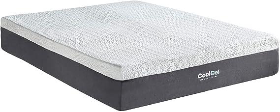 Classic Brands Cool Ventilated Gel Memory Foam 12-Inch Mattress - Queen
