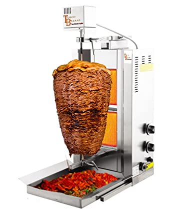 TurcoBazaar Máquina de Kebab automática para donar Kebab Grill ...