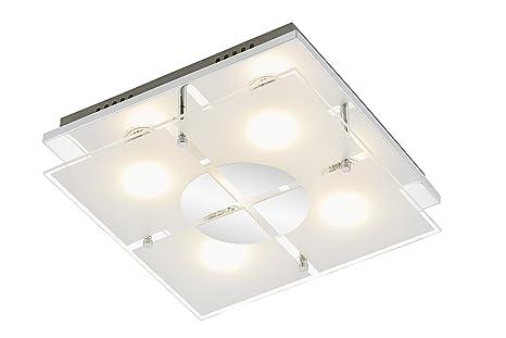 LED Design Deckenstrahler Leuchte Deckenspot Deckenleuchte Chrom Deckenlampe NEU