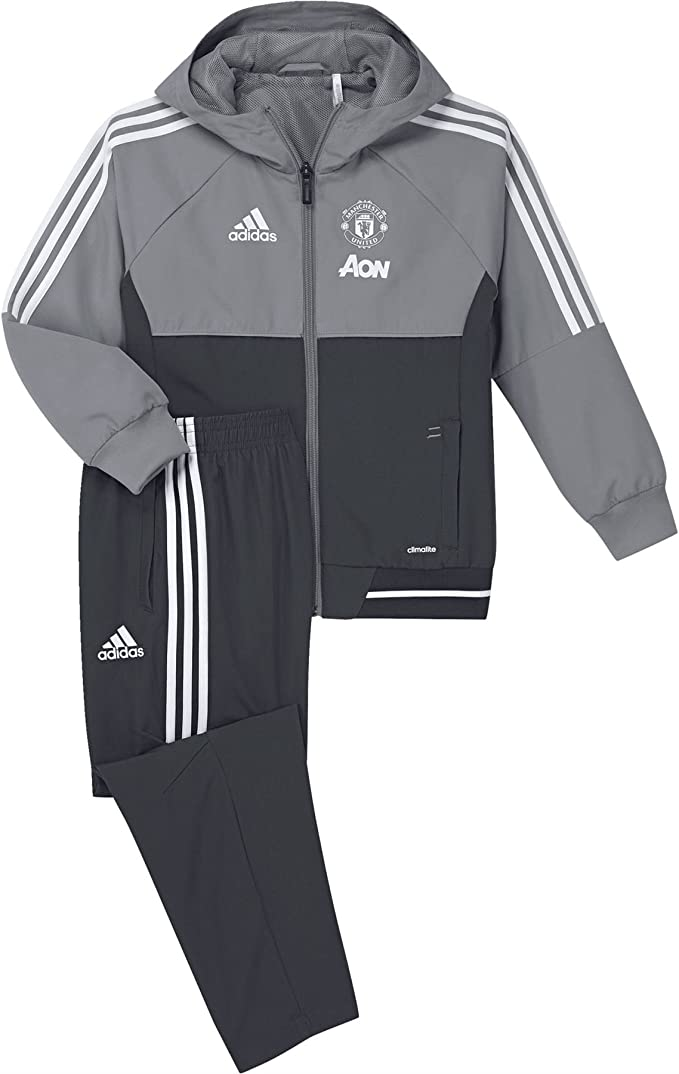 adidas Manchester United FC Pre I Chándal, Infantil: Amazon.es ...