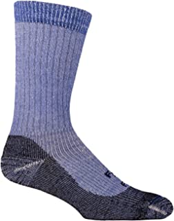 product image for Farm to Feet Men's Boulder Lightweight Hiking Socks, Surf The Web, Large