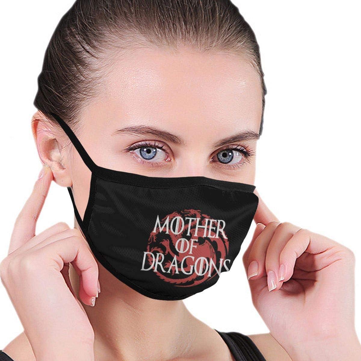 Riutilizzabile Lavabile per l/'Uso allaperto e in Moto Unisex Mother of Dragons Game of Thrones not Antipolvere