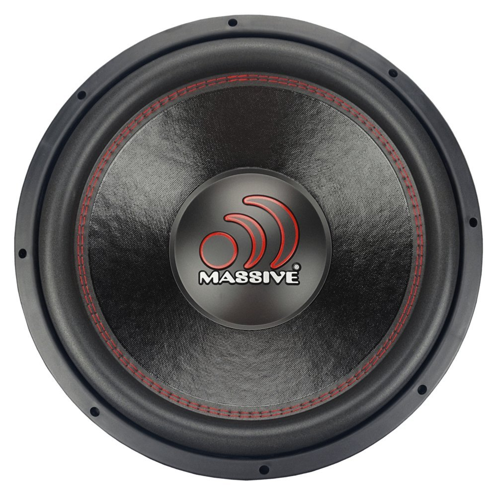 2.5 inch Voice Coil Jeep Subwoofers Woofer with Amazing Sound for Truck Cars Sub Subs Speaker Speakers Car Subwoofer by Massive Audio Sold Individually 10in Inch GTX104 1400W Dual 4 Ohm